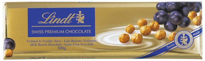 Gold Traube-nuss mogyorós-mazsolás tejcsokoládé 300g