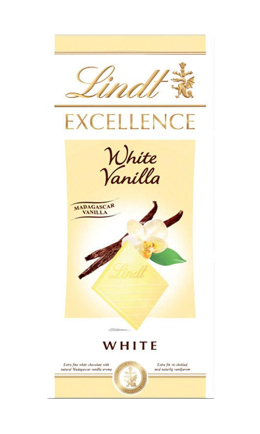 Excellence White Vanilla fehércsokoládé 100g