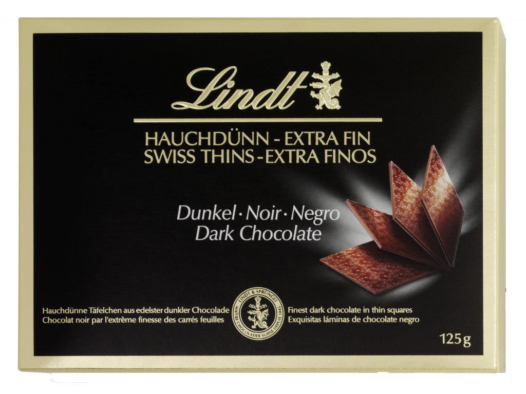 Thins Dark étcsokoládé lapocskák 125g