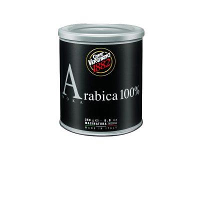 Vergnano 100% Arabica Mokka őrölt kávé fémdobozban 250g