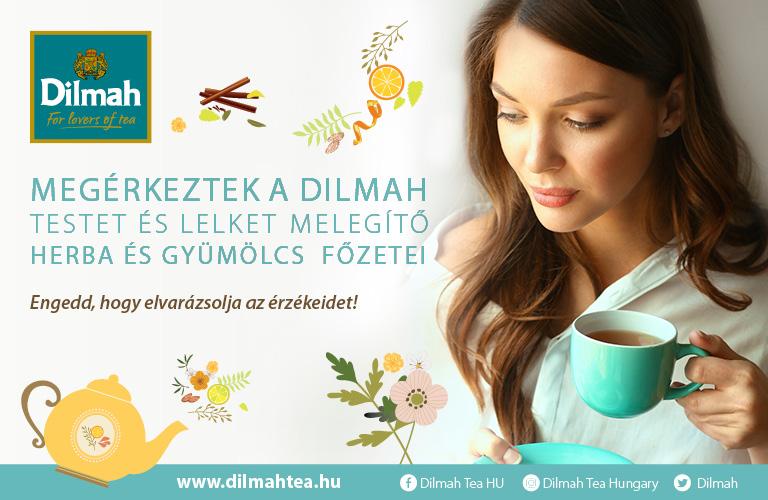 ÚJ Dilmah herba és gyümölcsteák az Interspar polcain