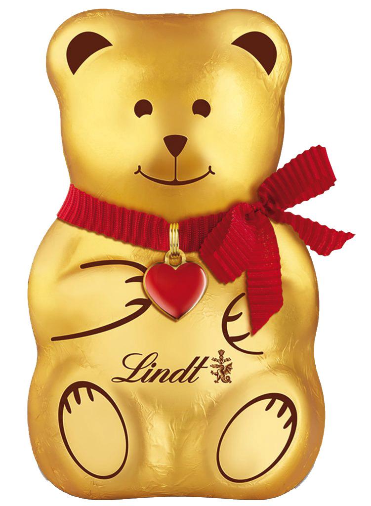 Lindt Bear mackó szívvel a nyakában 200g