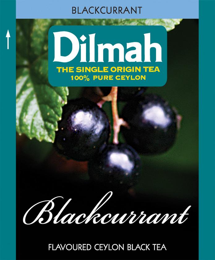 Blackcurrant – Feketeribizli aromás fekete tea