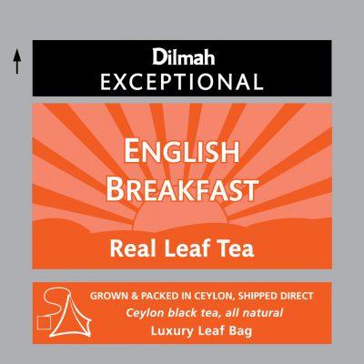English Breakfast fekete tea 50x2g