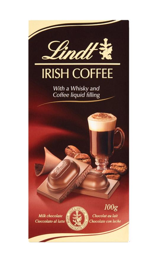 Lindt Irish Coffee töltött táblás csokoládé 100g