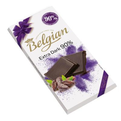 Belgian 90% Cacao étcsokoládé 100g