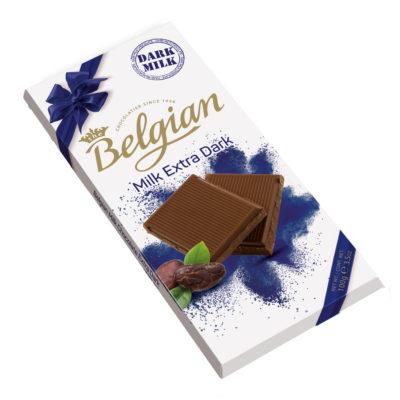 Belgian Milk Extra Dark tejcsokoládé 100g