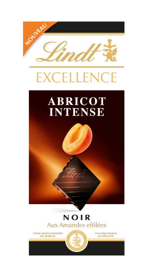 Lindt Excellence Apricot sárgabarackos étcsokoládé 100g