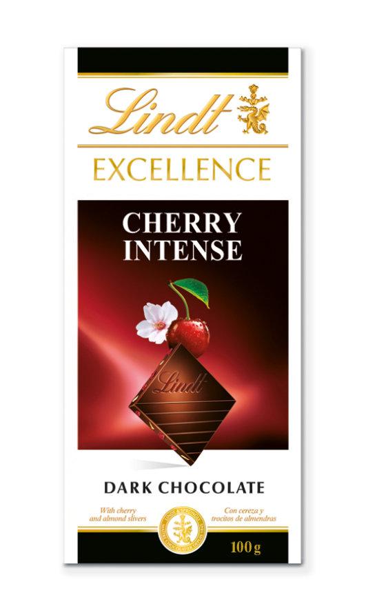 Lindt Excellence Cherry meggyes étcsokoládé 100g