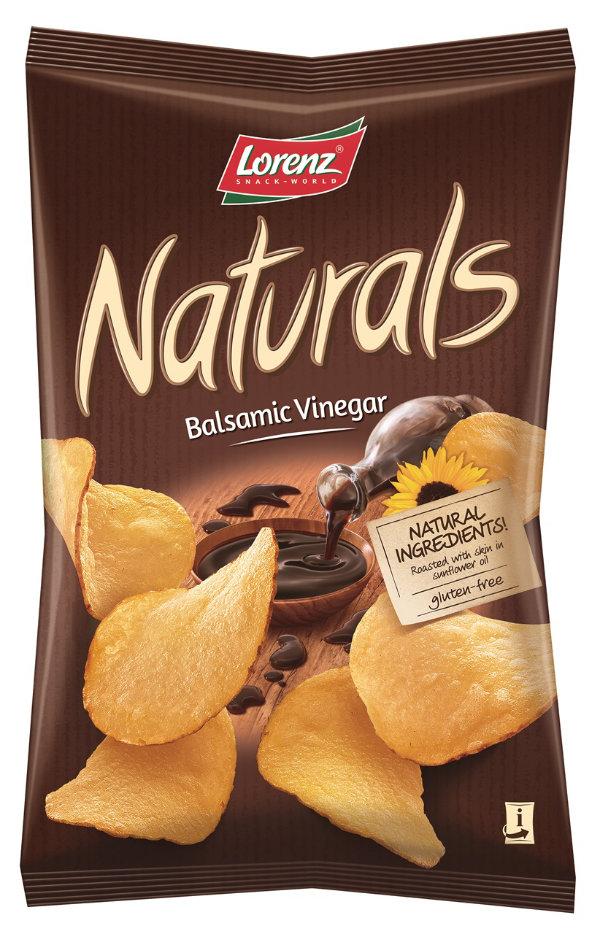 Lorenz Naturals Balsamic Vinegar balzsamecetes chips 100g
