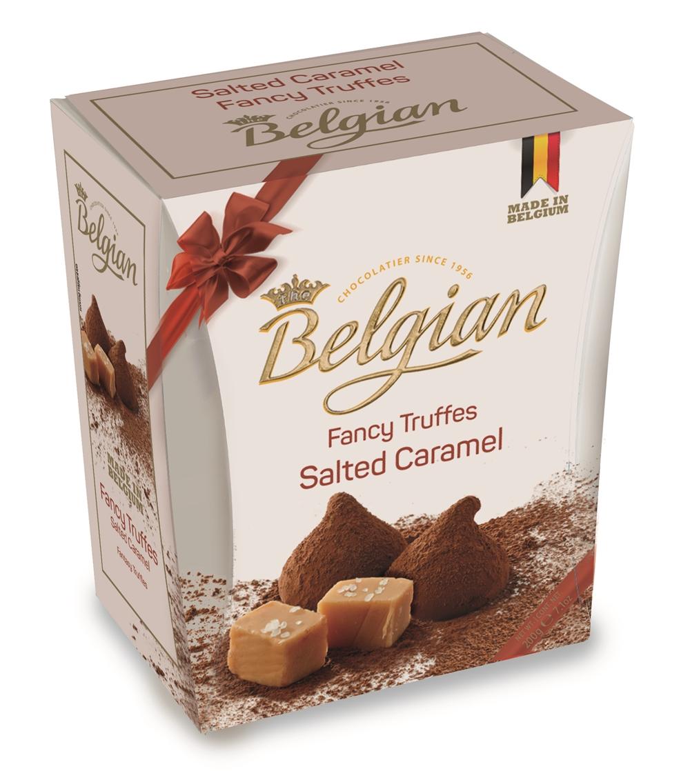 Belgian Trüffel Salted caramel 200g