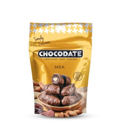 Chocodate tejcsokoládé desszert 100 g