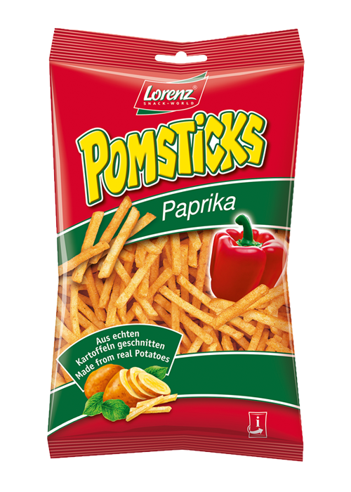 Lorenz Pomsticks Paptika 85g