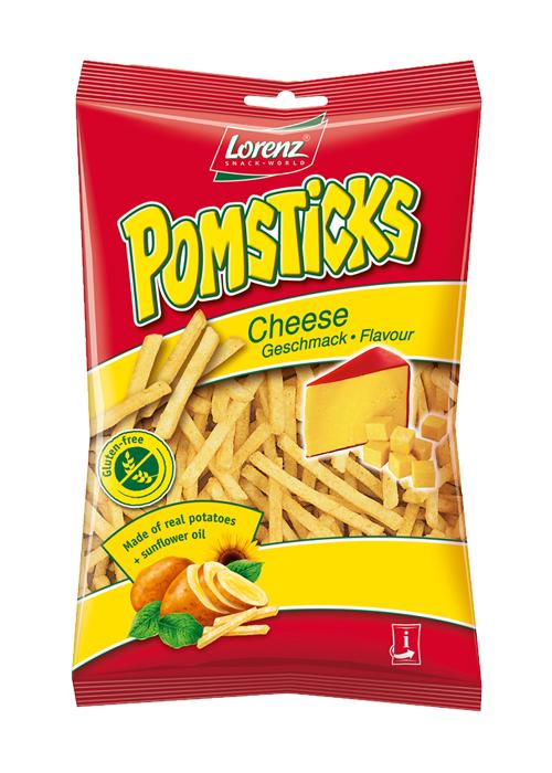 Lorenz Pomsticks Cheese 85g